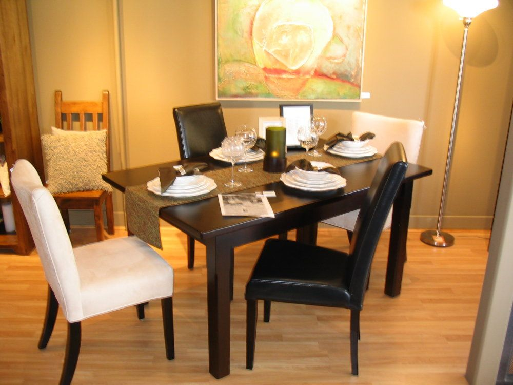 Rectangular Contemporary Tables 42 X 60 72 Dining Table