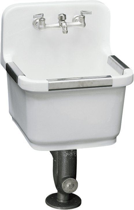 Sudbury service sink with two-hole faucet drilling $506.29 | Work in ...