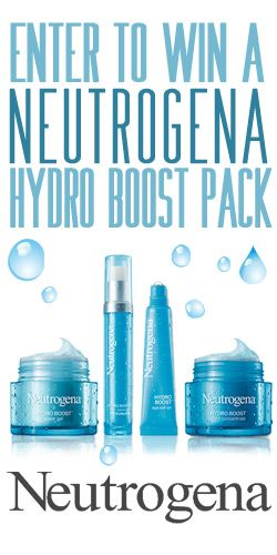#Win a #Neutrogena Hydro Boost #Skincare Pack! #competition