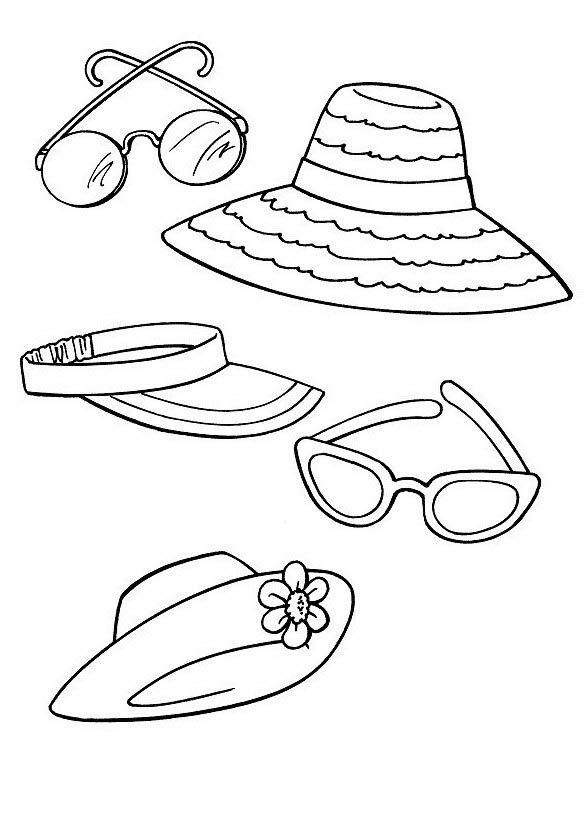 Ausmalbilder Kleidung 32   Technische Zeichnung Accessoire ...