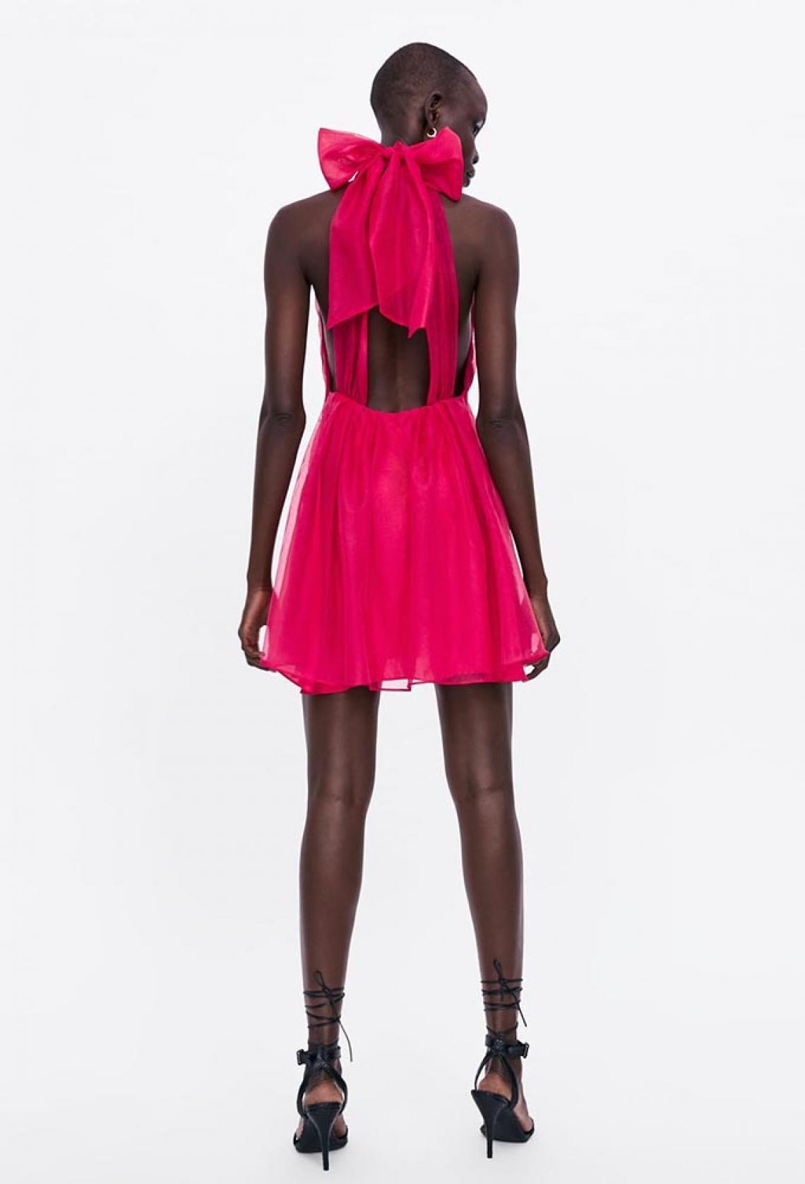Zara Amplía Su Colección Limitada Para Invitadas Mini Vestidos Vestido De Organza Minivestido