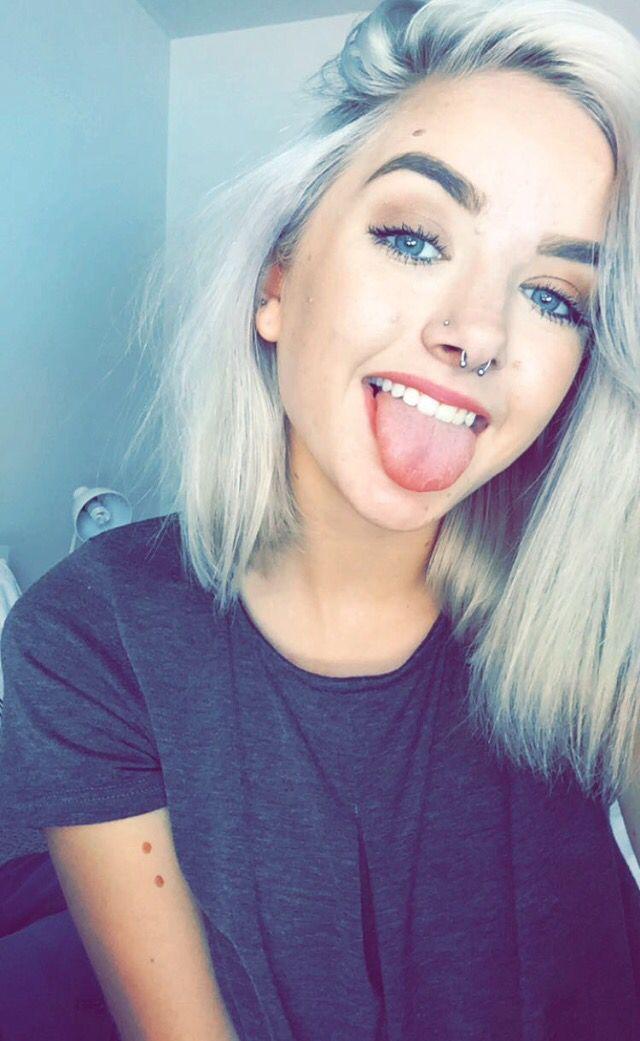 Septum Piercing Piercings Pinterest Piercings Hair And Cool