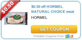 photo regarding Seventh Generation Printable Coupons known as Plenty of fresh new printable discount codes: Hormel Natural and organic Decision, Burts