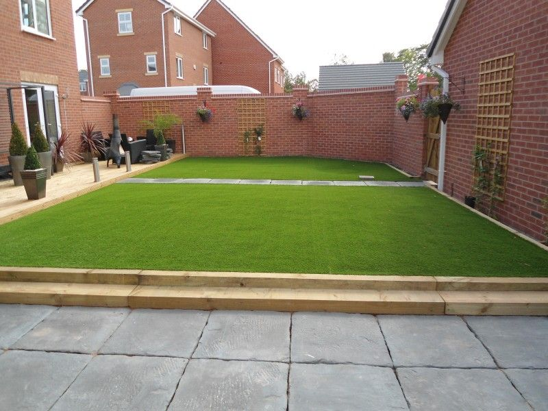 Synthetic Back Garden Lawn Surfaces