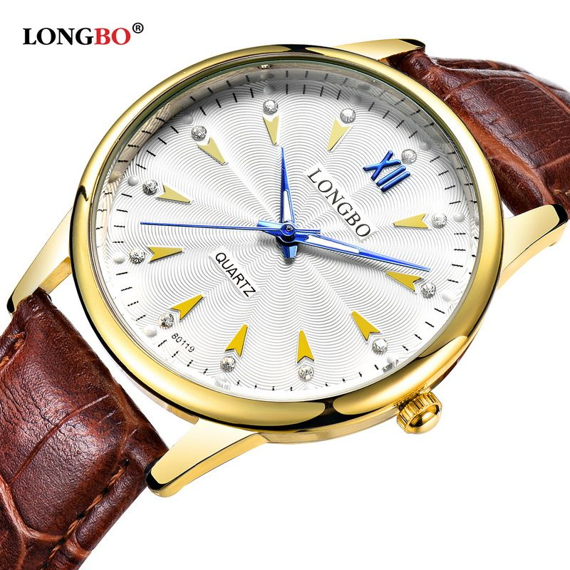 Best Seller 2017 New Product Design Women Watches LONGBO Luxury Brand  Leather Stainless Steel Back Wist. Relojes De Pulsera De CuarzoHombre MujerMejores  ... 7f9f3948c46b