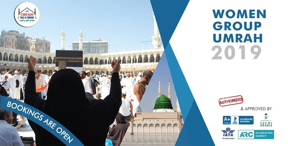An exclusive Women Group Umrah Package! Why Chicago Hajj