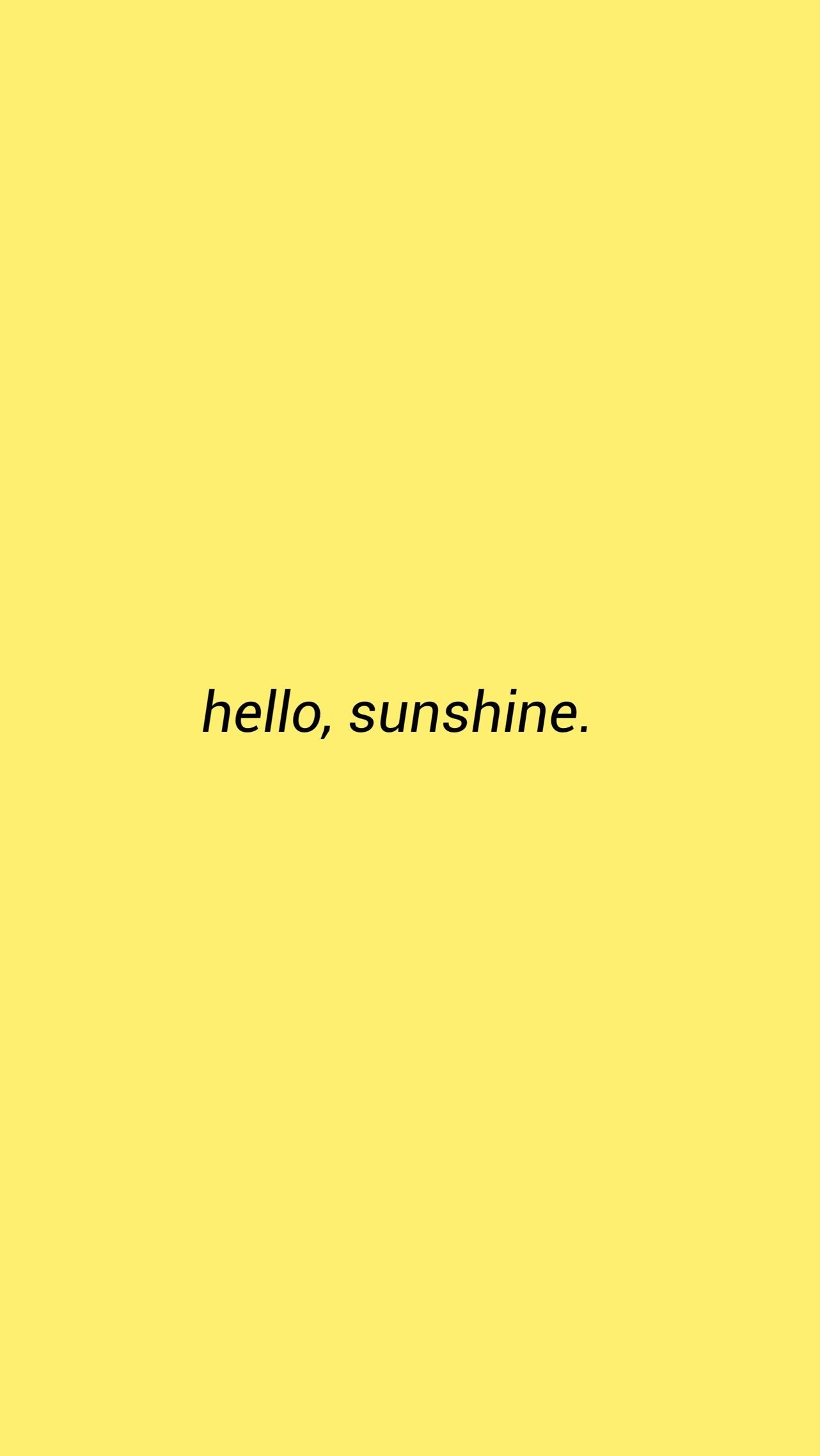 19 Aesthetic Yellow Pastel Frases In 2020 Iphone Wallpaper