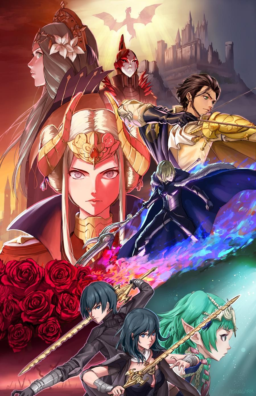 Pin By Kaito On Fire Emblem Three Houses Fire Emblem Fire Emblem Characters Fire Emblem Wallpaper
