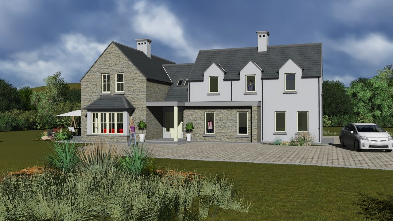 Irish house plans irelands
