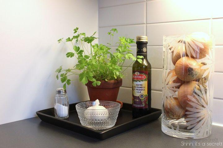 Kitchen Details @ Shhh, it's a secret! -blog