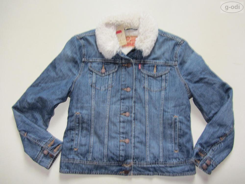 Levi s® Jacke Jeansjacke Fell, Gr. M (L), NEU !! Winterjacke, warm  gefüttert !! in Kleidung   Accessoires, Damenmode, Jacken   Mäntel   eBay b0d55ed254