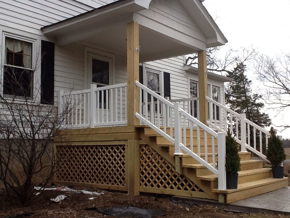 cottage decks pictures stairs porches Mobile home