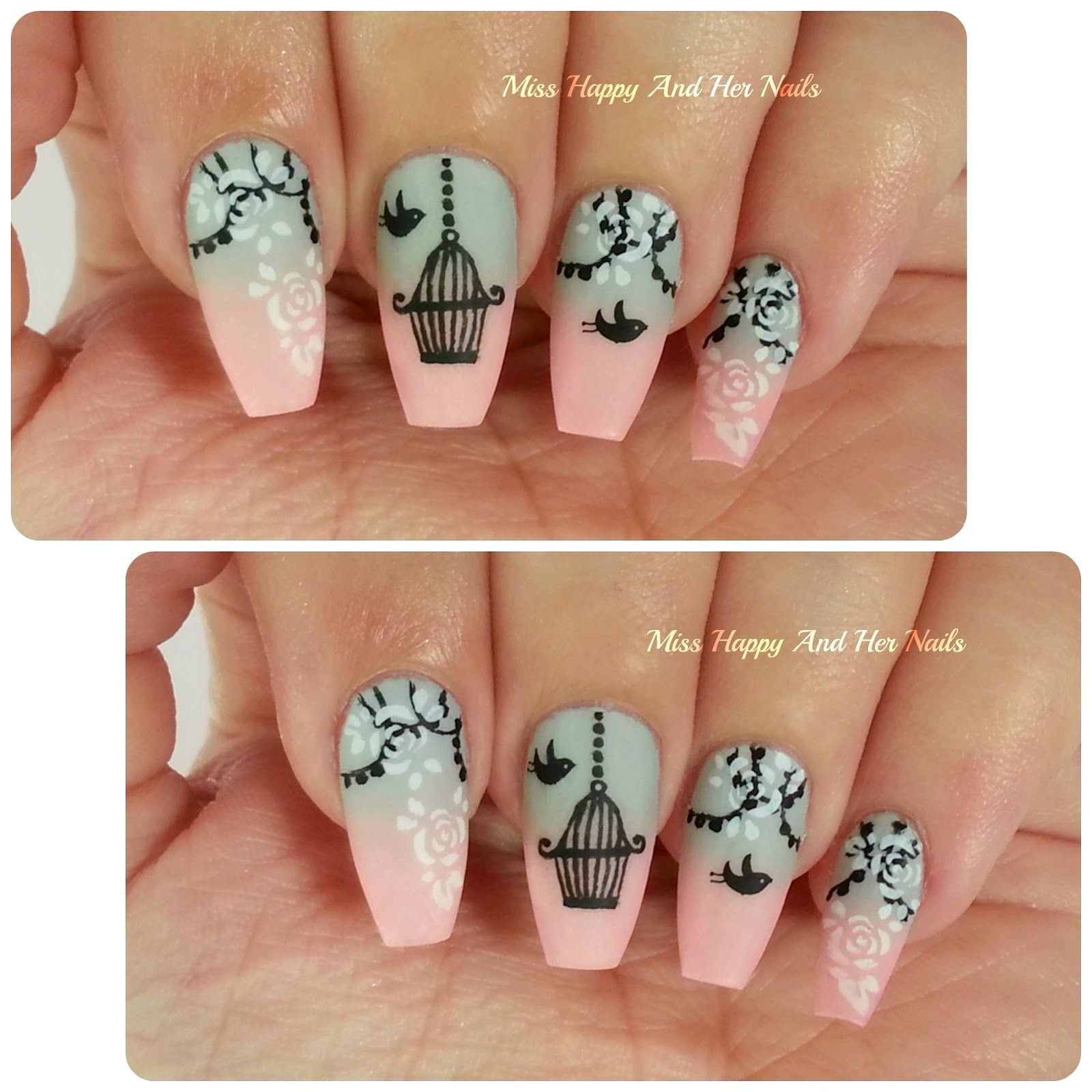 Miss Happy And Her Nails : Let me free nail art | nail art and ...