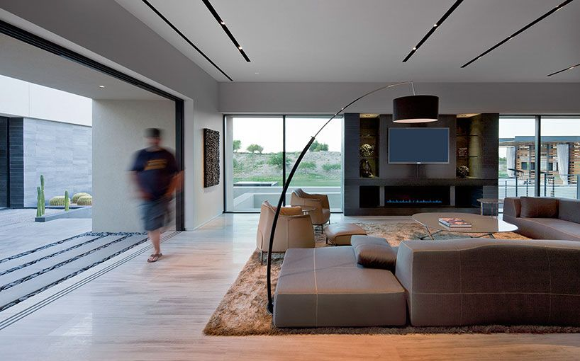 Tresarca Residence By Assemblage Studio This Modern Two Storey Single Family Designed Is Situated In Las Vegas Nevada