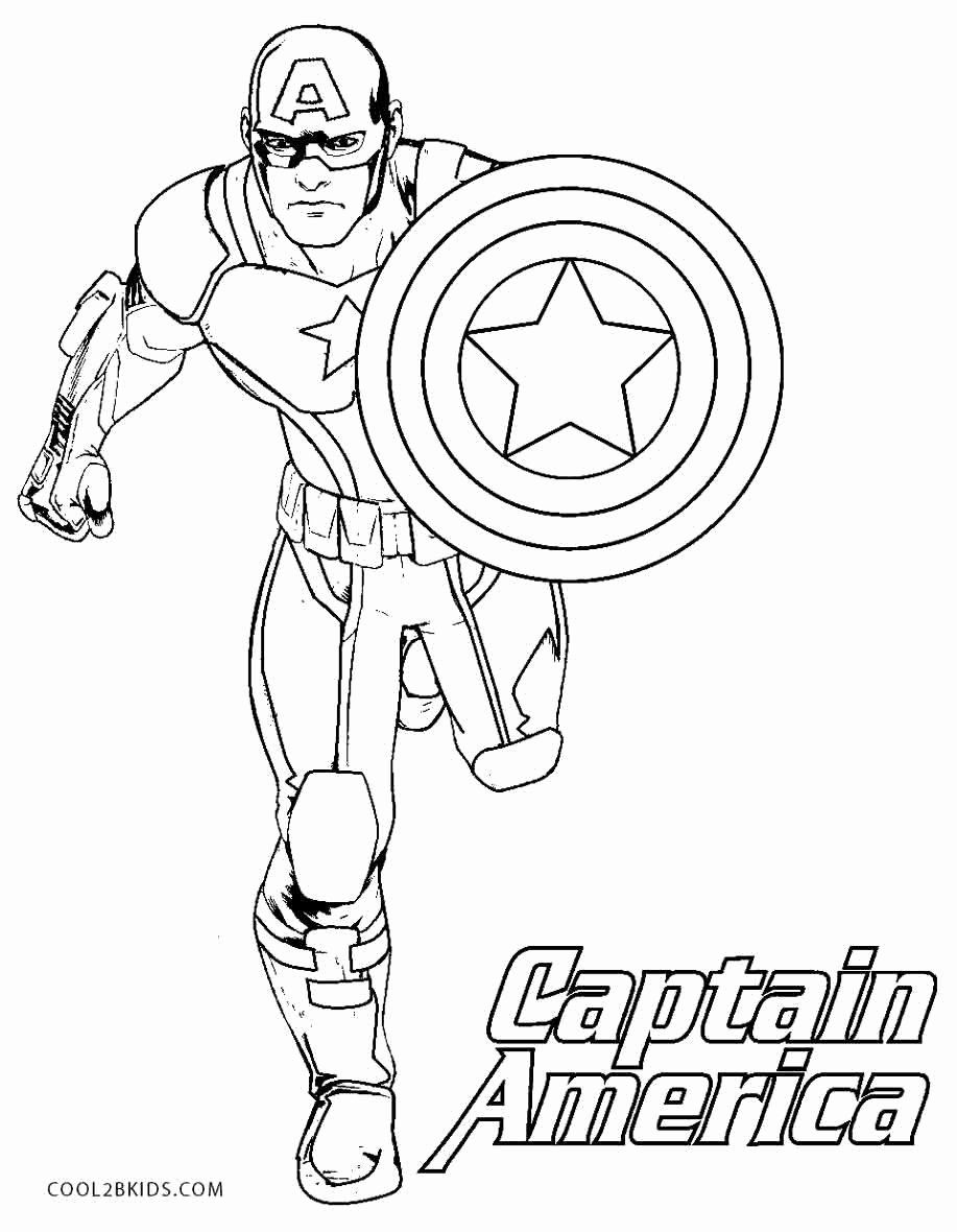 Captain America Shield Coloring Page Best Of Captain