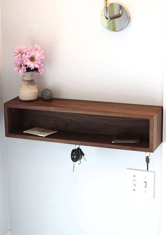 Modern Entryway Organizer with Magnetic Key Hooks in Choice of ...