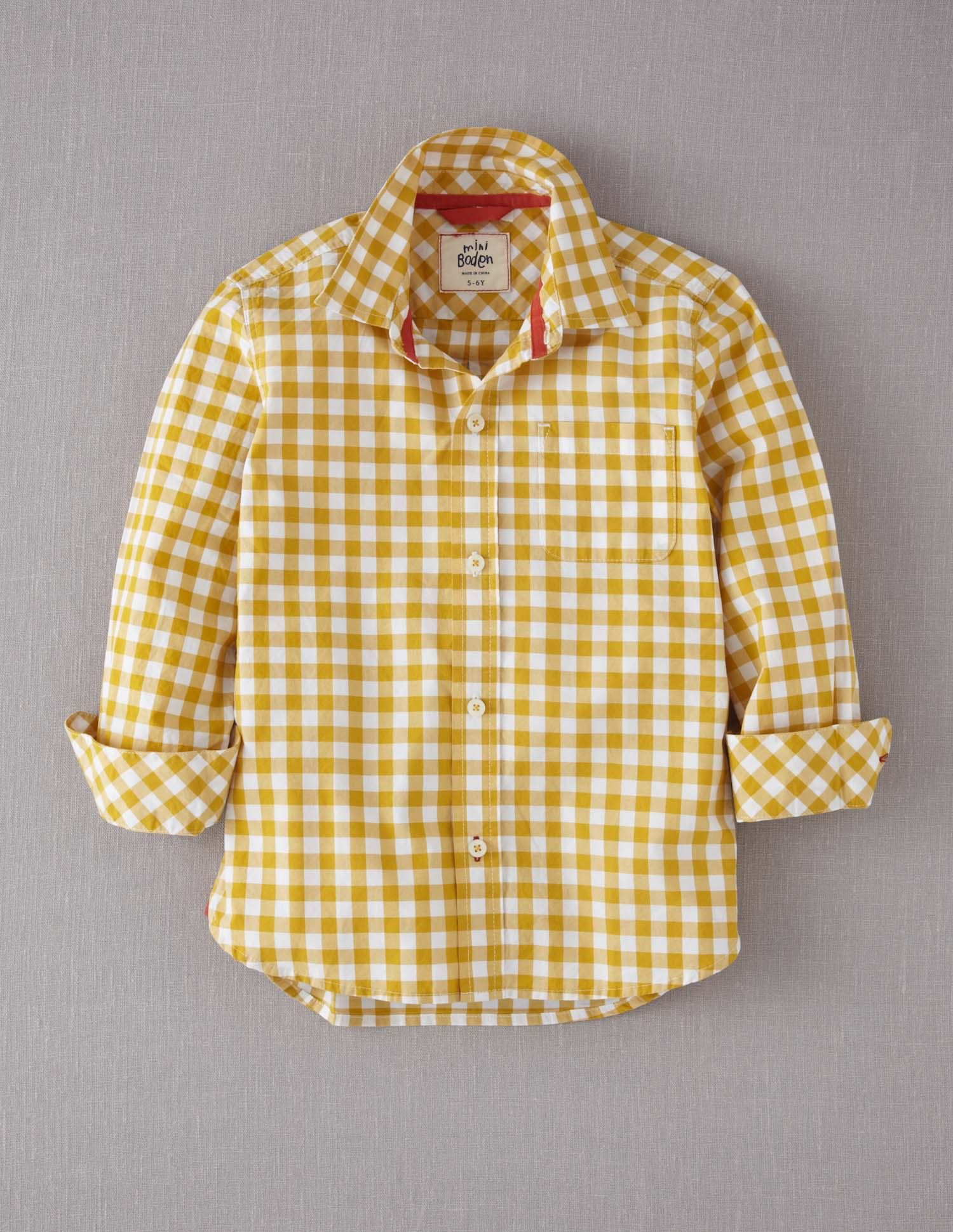 Yellow Gingham Shirt For Jude You Are My Sunshine