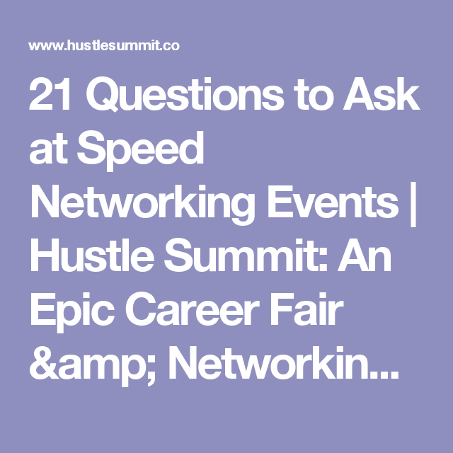 what questions to ask at a career fair