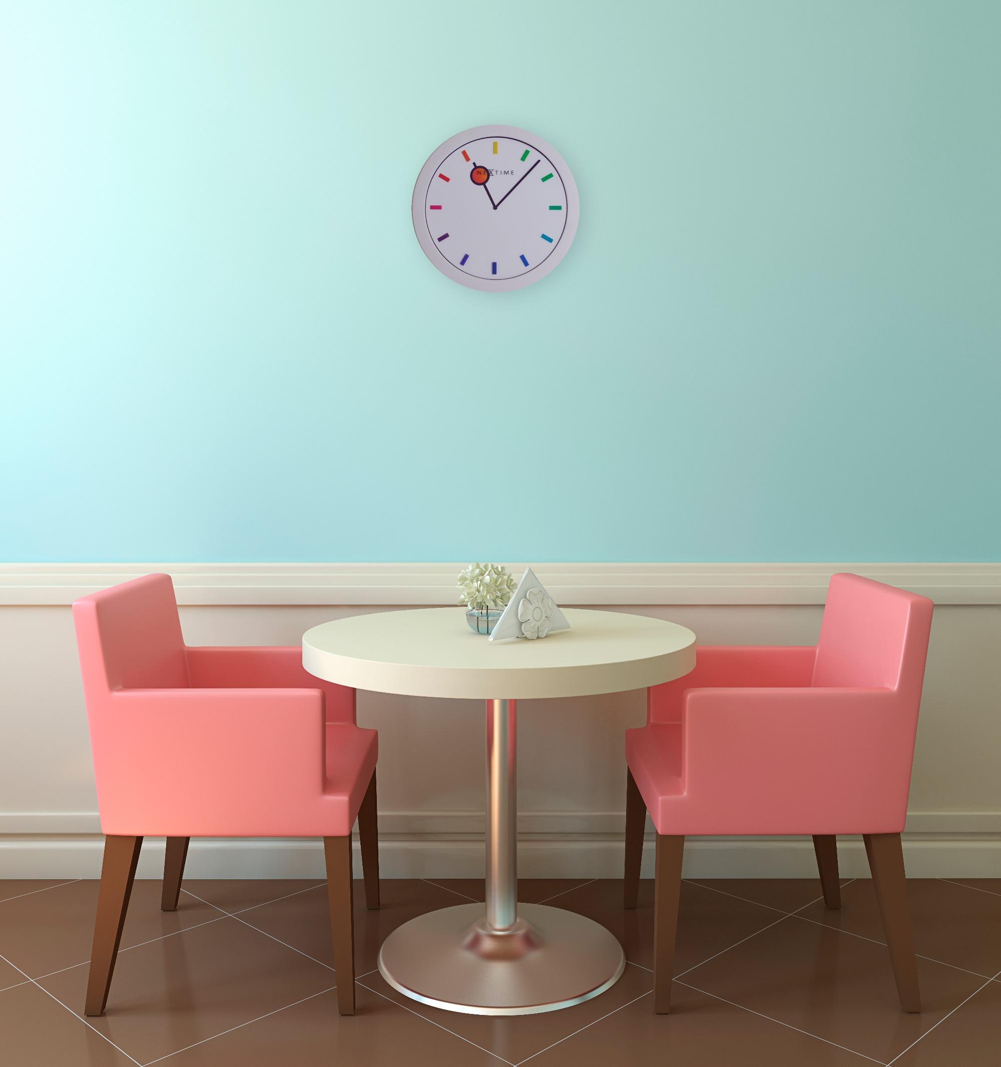 Nextime Colour Change kopen? Kleurige kinderklok voor aan de muur