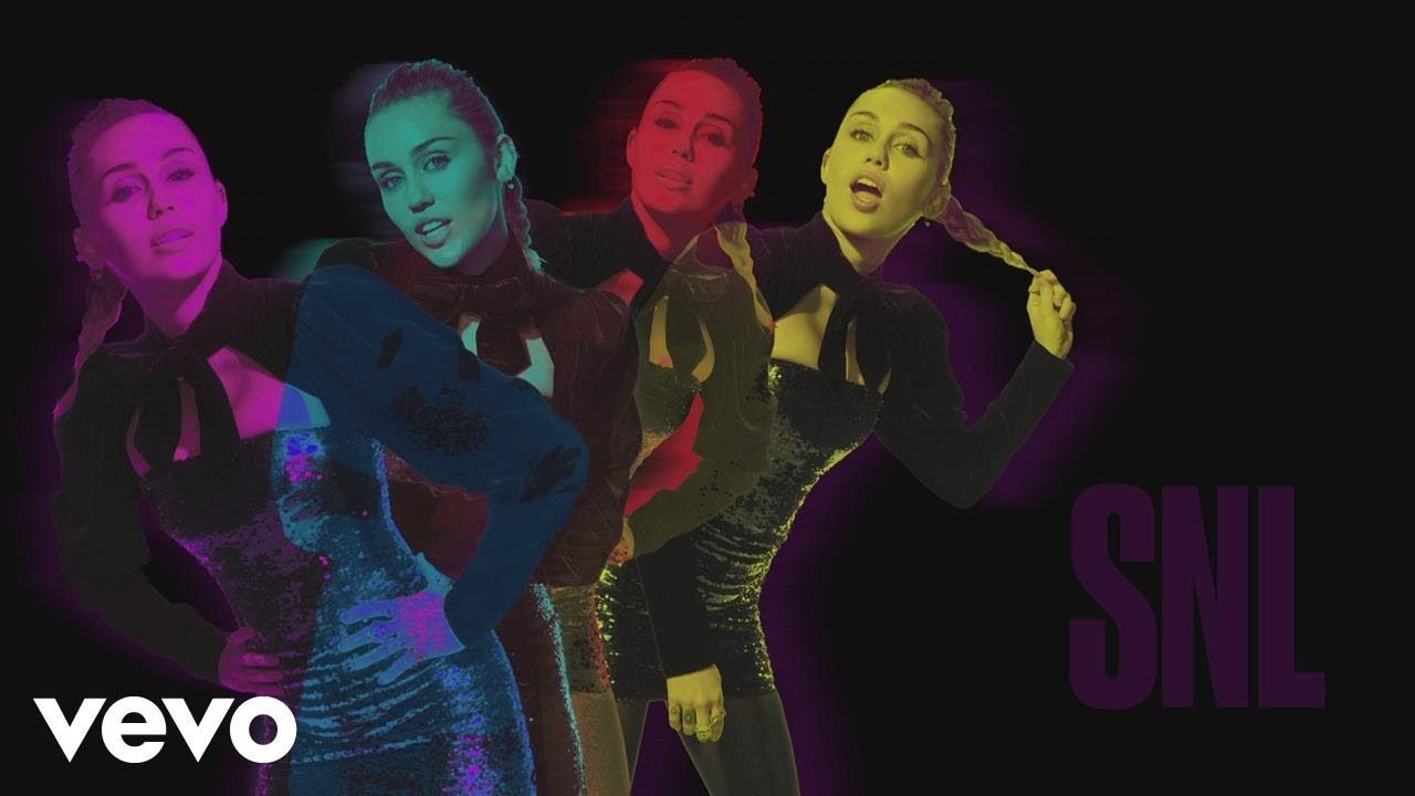 Miley Cyrus Bad Mood Live At Snl Female Music Artists
