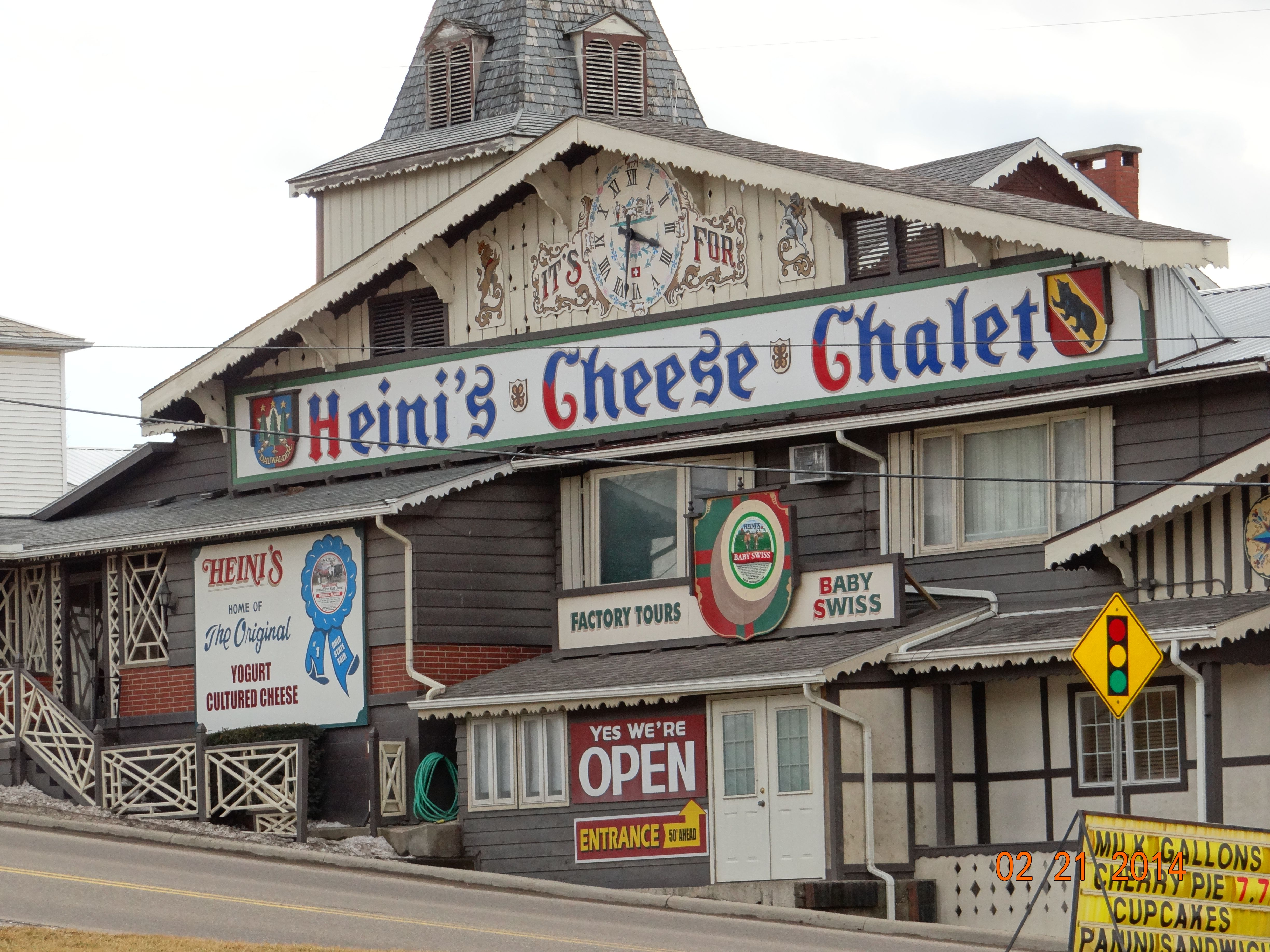 Holmes County Ohio Amish Country Heini S Cheese Chalet