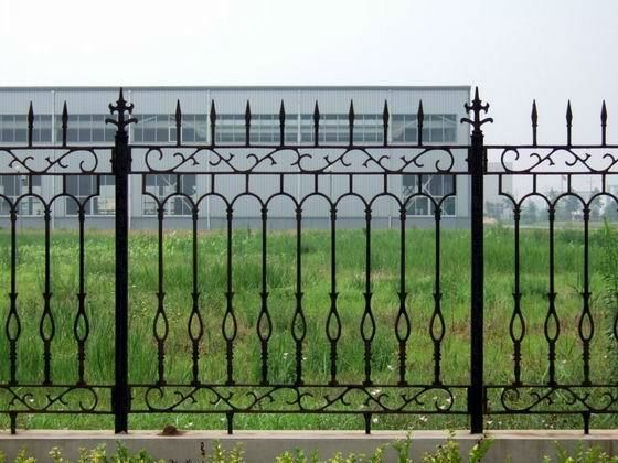 Wrought Iron Fence Styles Welded Wrought Iron Fence Designs