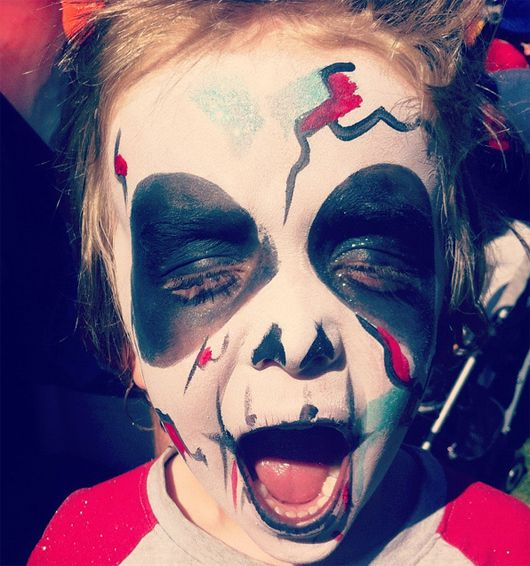 scary makeup ideas for halloween Halloween Face Painting for Kids - halloween face paint ideas scary