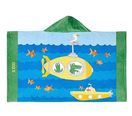 Classic Submarine Beach Wrap