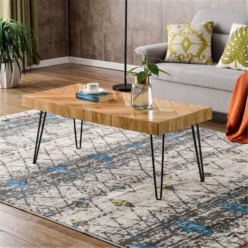 Modern Hairpin Legs Coffee Table Coffee table rectangle
