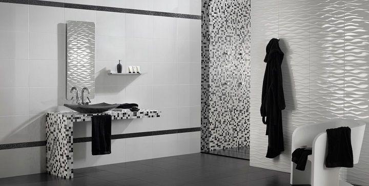 Cuartos de baño en blanco y negro | Proyectos que intentar ...
