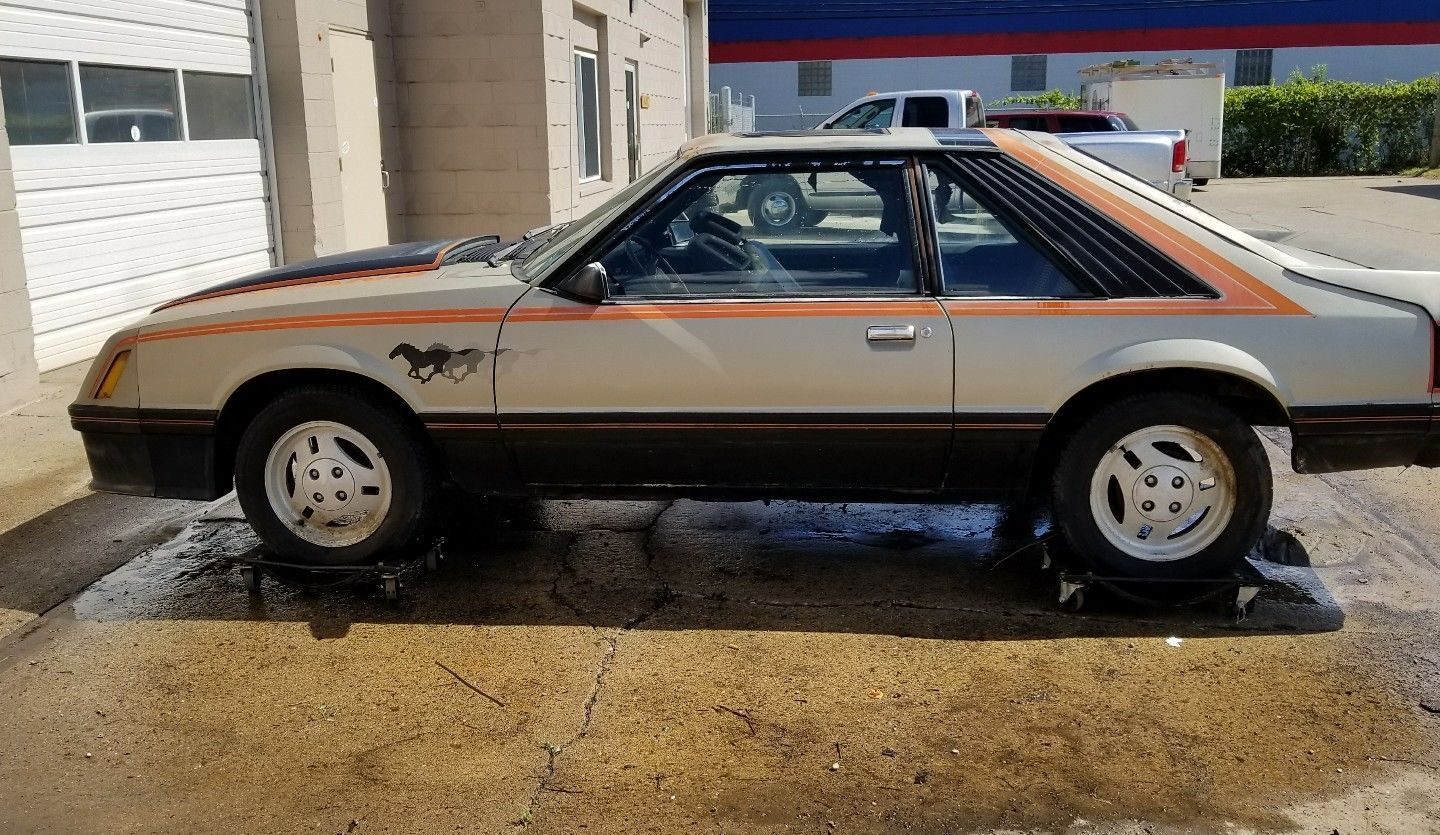 1979 Ford Mustang Indy pace car barn find project | Barn finds for ...
