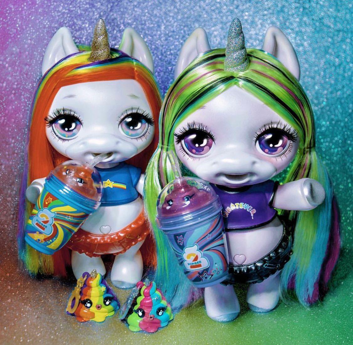 Rainbow Surprise Fantasy Friends Mini Doll LOL Spits Slime Glitter Poopsie NEW