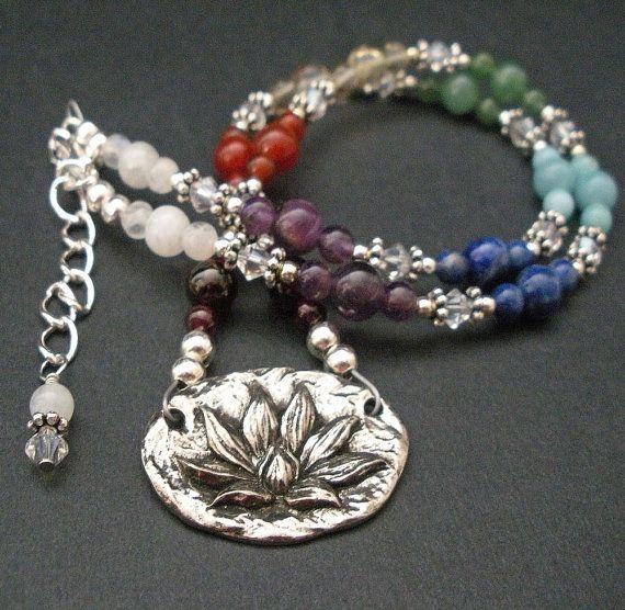 Chakra Crystal Healing Lotus Yoga Meditation Natural by IndieWolf