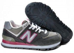 3ba7600e2f5 Baratos de Mujer New Balance 574 Zapatillas Gris Rosa Buenos precios ...