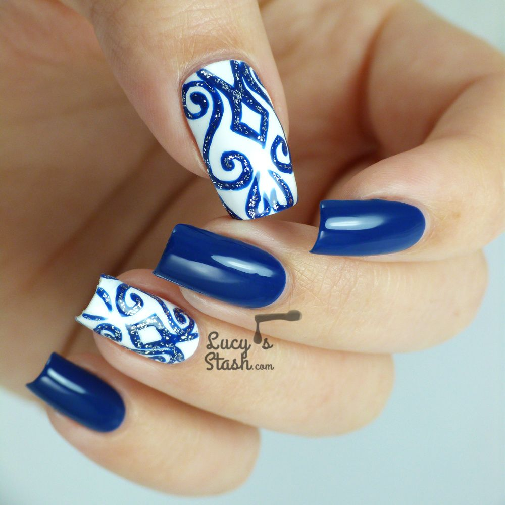 Nail Design for New Years Eve Party: Match your nails & dress ...