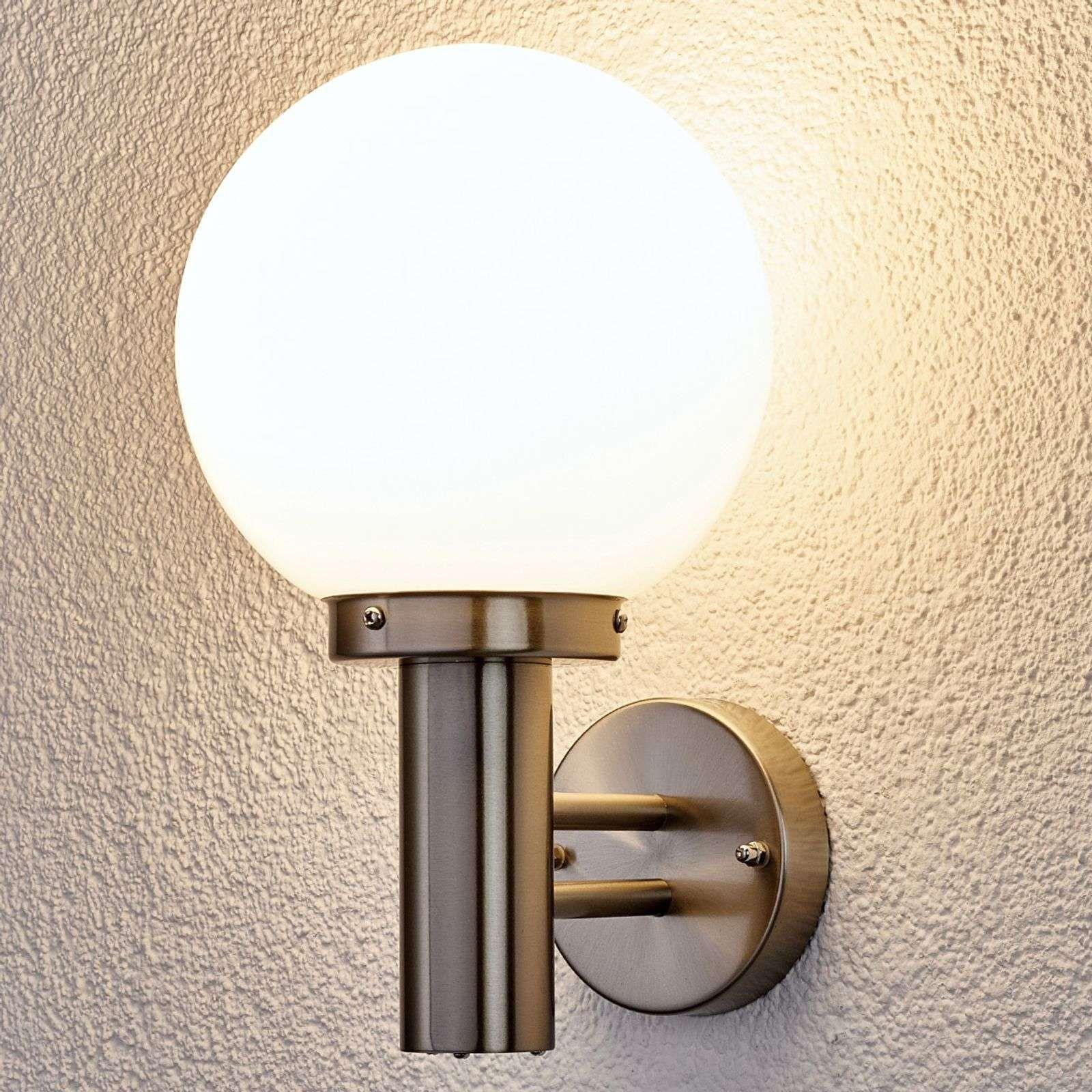 Applique D Exterieur Nada En Inox En 2020 Eclairage Mural Lampe D Exterieur Mur Exterieur
