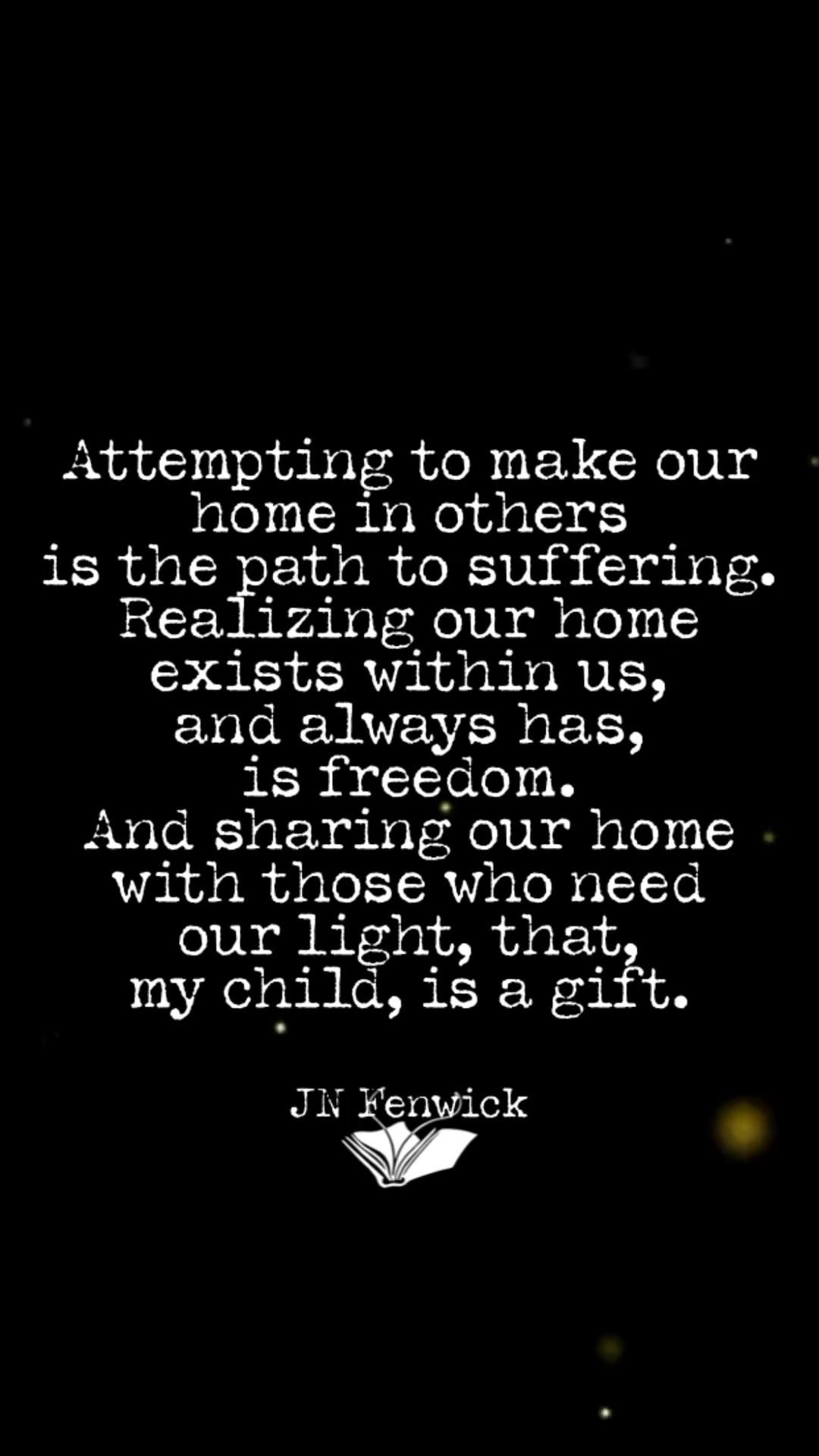 Share your light.