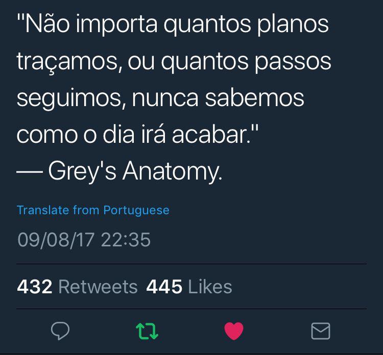 Pin de Caroline Vidal en Grey\'s Anatomy | Pinterest | Frases, Textos ...