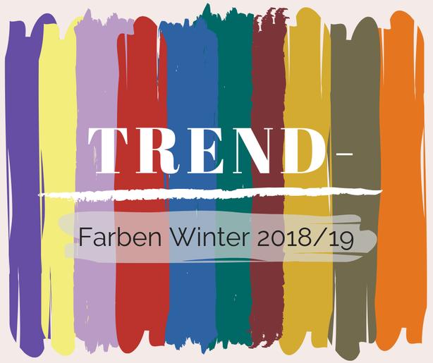 Trendfarben Frühling Sommer 2018 für jeden Farbtyp