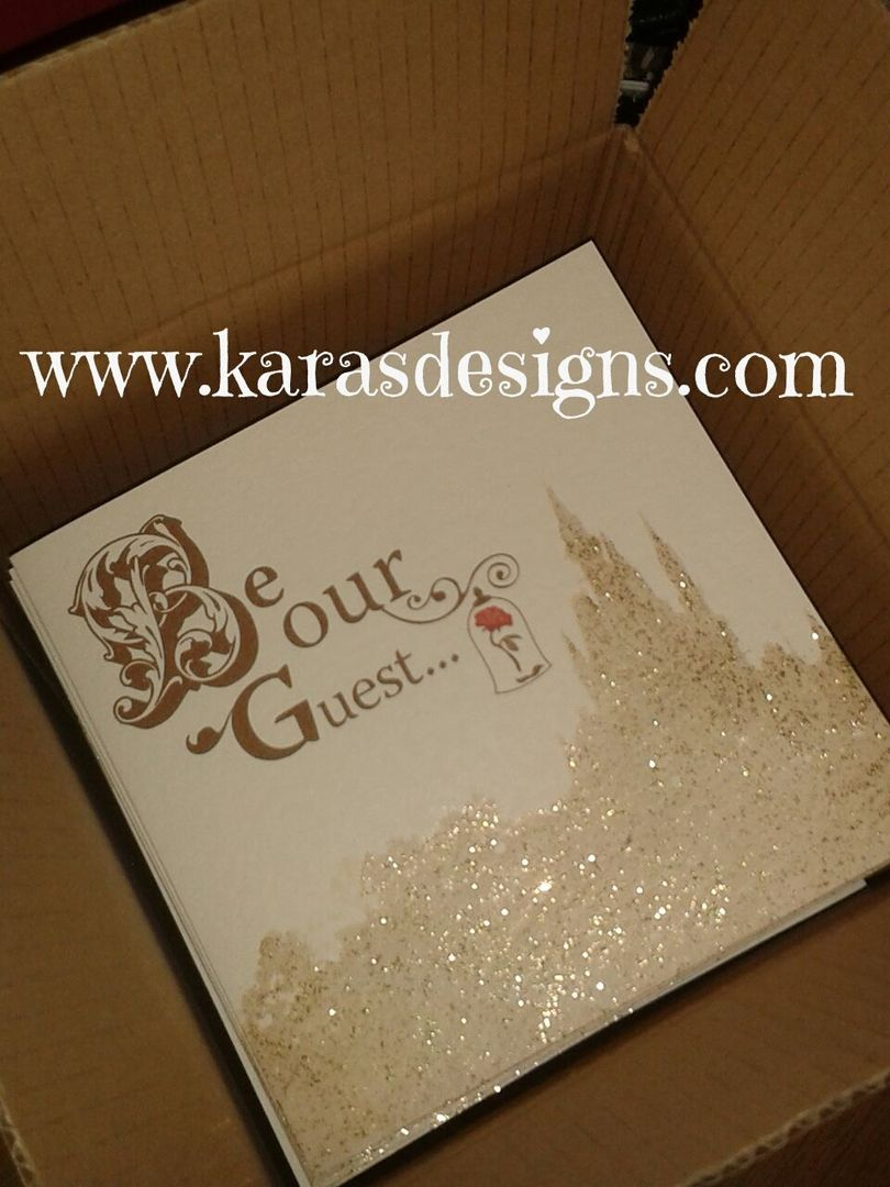 Once Upon A time range of wedding stationery and invitations