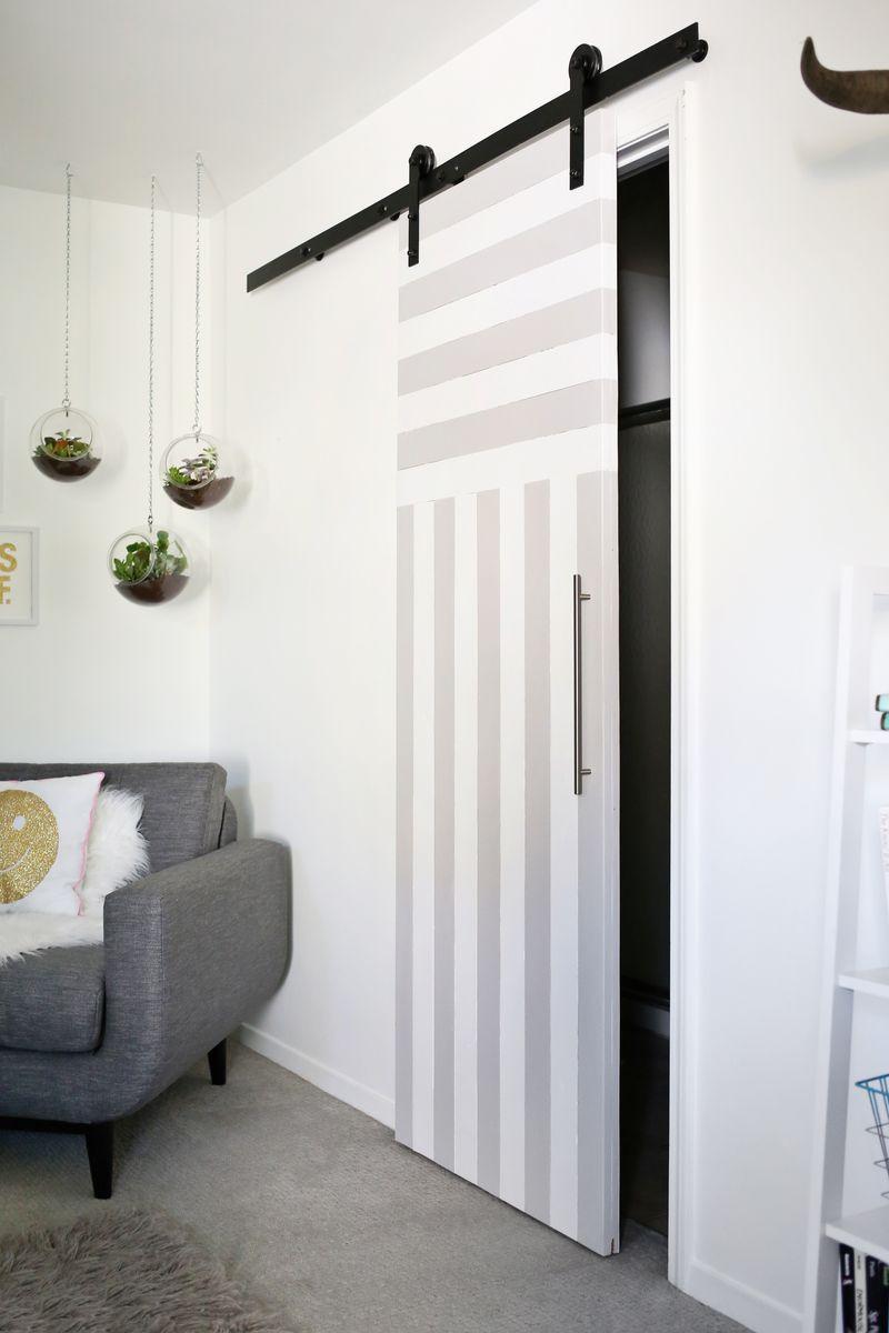 Sliding Door Solution For Small Spaces Diy Sliding Door Home