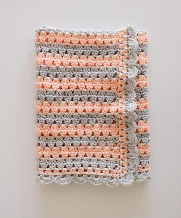 Modern Crochet Granny Blanket By Tiffany Free Crochet Pattern