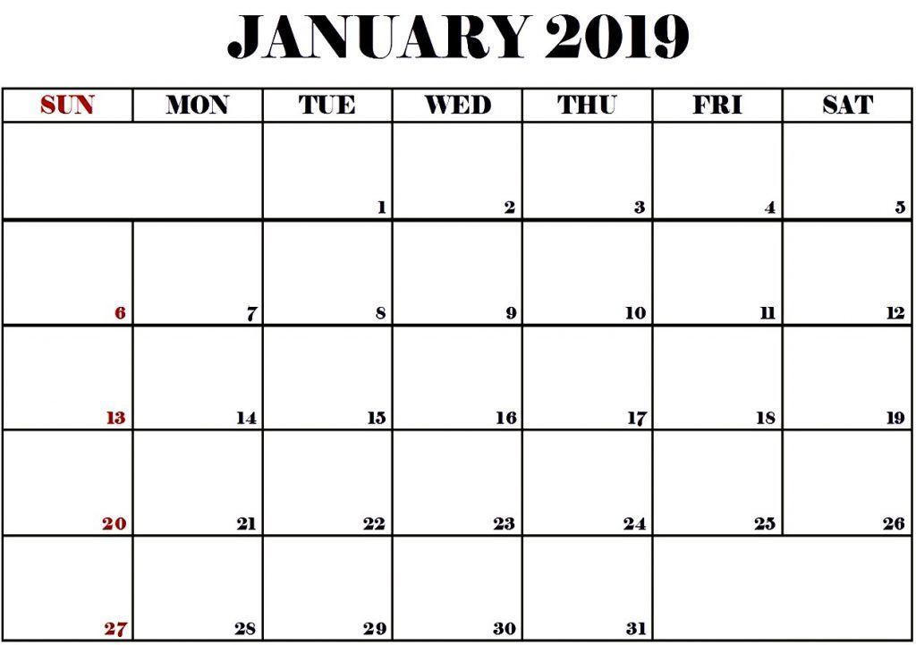 January 2019 Calendar Images January Month Pinterest Calendar