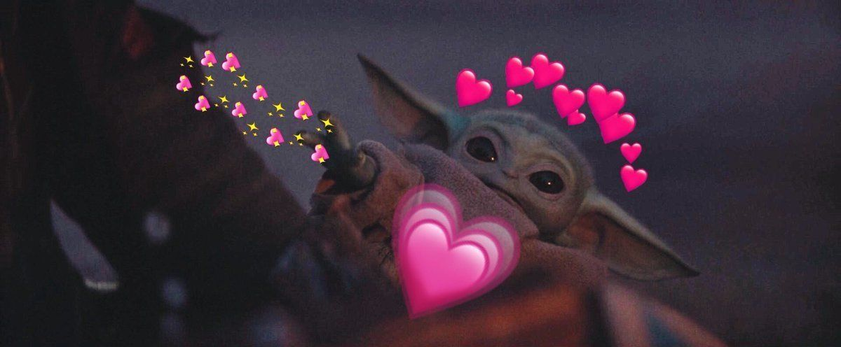 10 Cutest Baby Yoda Memes That We Can T Get Over Screenrant The New Star Wars Live Action Series The Mandalorian Yoda Meme Yoda Wallpaper Star Wars Baby