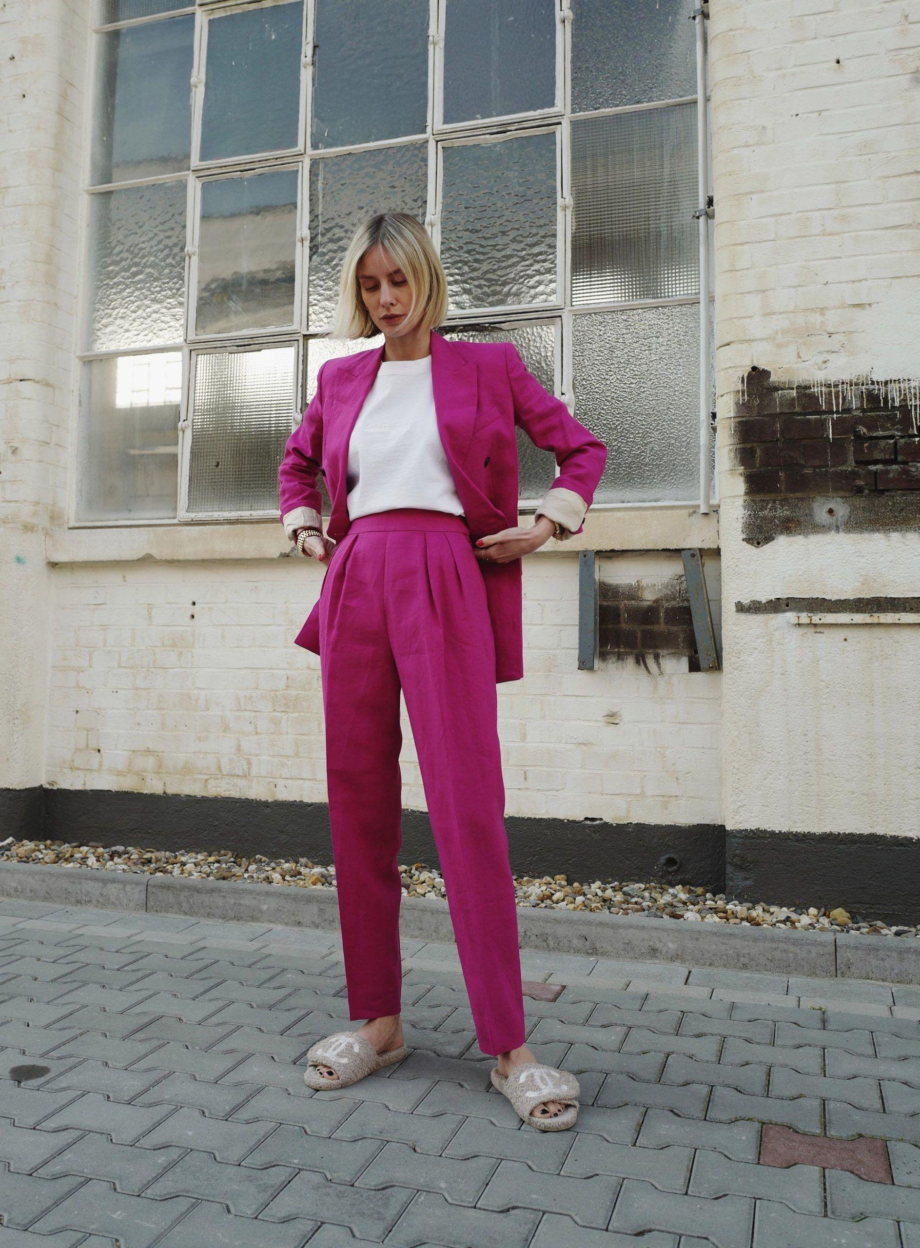 The Theory power suit  Lisa Hahnbück  lifestyle travel  fashion blogblog