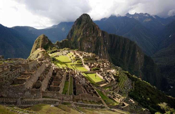 Perun Machu Picchu on maailman suosituimpia nähtävyyksiä