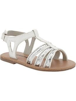 Glitter T Strap Sandals For Baby Old Navy T Strap Sandals T Strap Old Navy