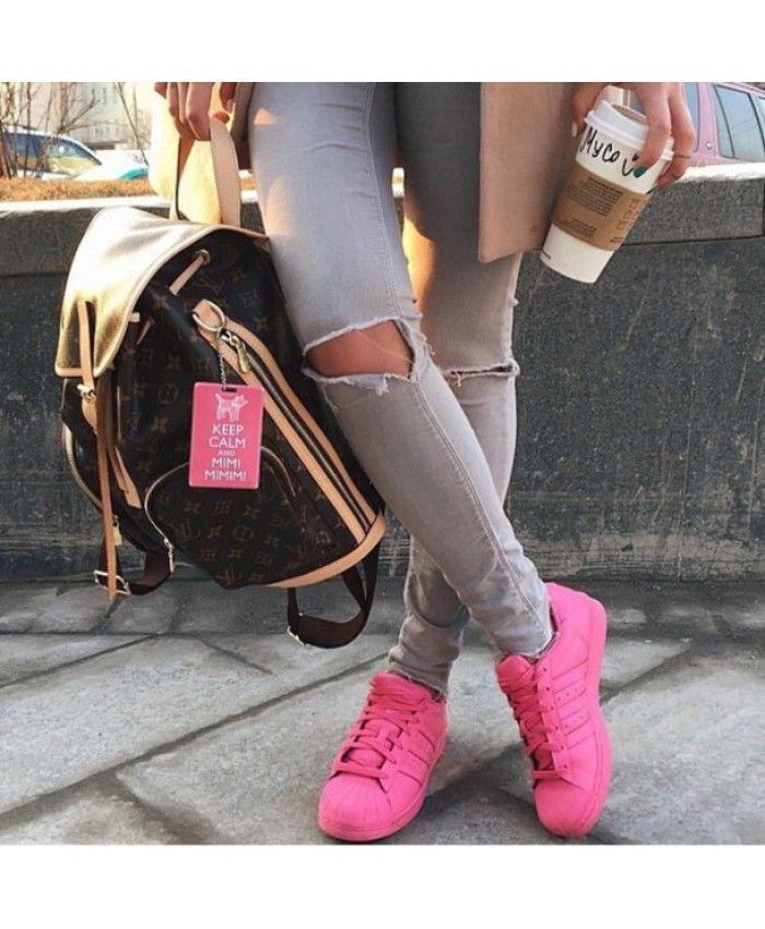 Pin on adidas superstar pink