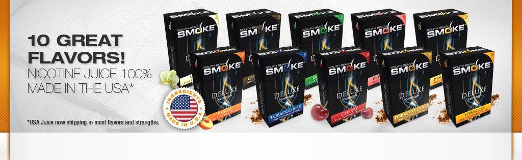 What does e cigarette vapour contain