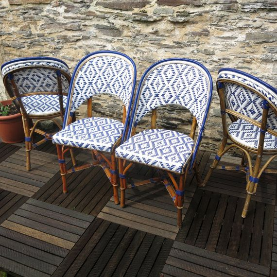 bistro rattan chairs chaise de bistrot rotin et bistro. Black Bedroom Furniture Sets. Home Design Ideas